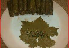 صور طريقة لف ورق العنب
