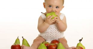 اكل الطفل في الشهر الثامن