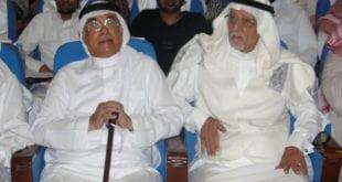 بالصور محمد حمزة محمد حمزة خلال حضوره المسرحية في ابرق الرغامة 560x308 310x165