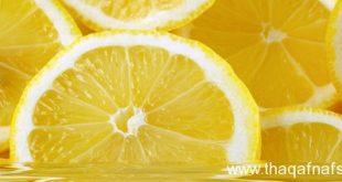 صورة علاج قشرة الراس بالليمون