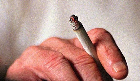 صوره اخطار التدخين بالفرنسية