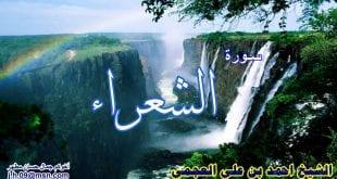صور سورة الشعراء احمد العجمي