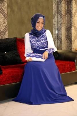 بالصور فستان سواريه محجبات 15832 1