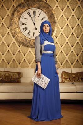 بالصور فستان سواريه محجبات 15832 2