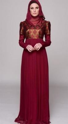 بالصور فستان سواريه محجبات 15832 3