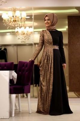 بالصور فستان سواريه محجبات 15832