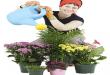 صور العناية بالنباتات