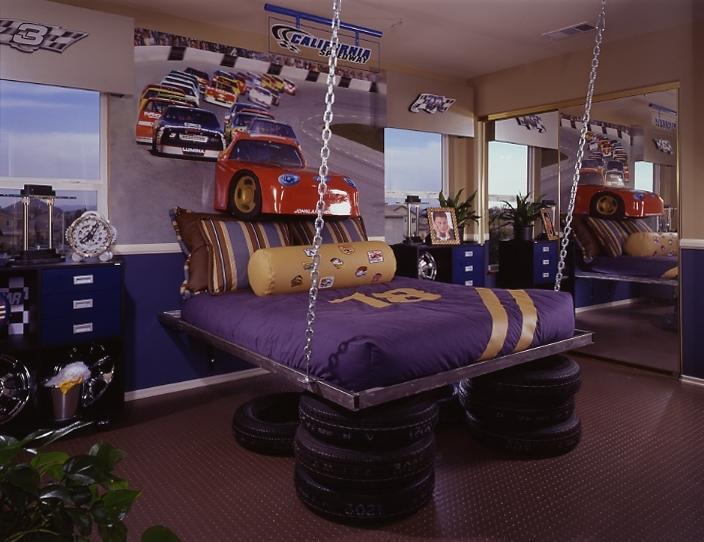 بالصور غرف نوم اولادي , غرفة مودرن باشيك الالوان العصريه 16435 2