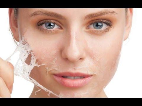 صورة علاج تقشير الوجه طبيعيا