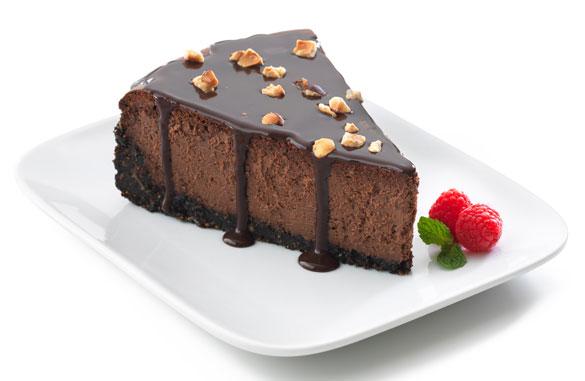 صوره طريقة التشيز كيك بالشوكولاته
