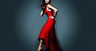 فستان احمر في الحلم