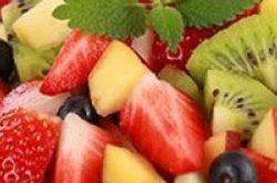 صوره السعرات الحرارية في سلطة الفواكه