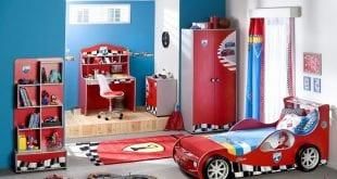 صور غرف نوم اولادي , غرفة مودرن باشيك الالوان العصريه