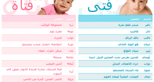 صور اسماء اولاد وبنات 2019