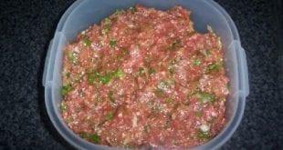 صور طريقة اللحم المفروم , هقولك على خلطة اللحم المفروم اللذيذة