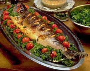 طريقة عمل سمك التونة المشوى