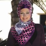 لفات الحجاب حسب شكل الوجه