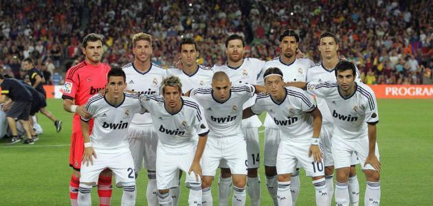 صوره لاعبين مدريد