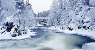 صورة مناظر طبيعية في الشتاء