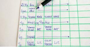 صورة كيفية عمل جدول مذاكرة , هقولك ازاى تنظمى وقتك وتعملى جدول ناجح للمذاكرة