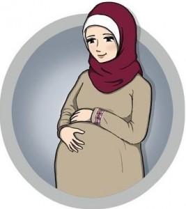 الام الحمل في اسفل البطن