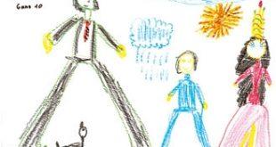 صور تحليل رسومات الاطفال النفسية