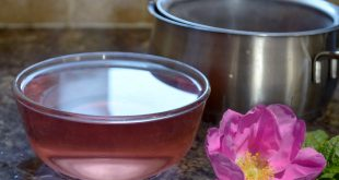 كيفية عمل ماء الورد في البيت