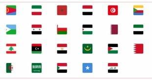 اعلام جميع دول العالم بالعربي