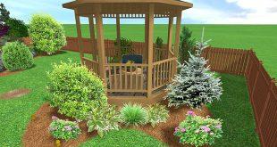 صوره مخطط حديقة منزلية