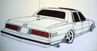 صورة رسمات سيارات