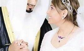 صور فاطمة الصفي وزوجها