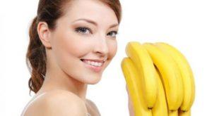 صوره ماسك الموز للشعر