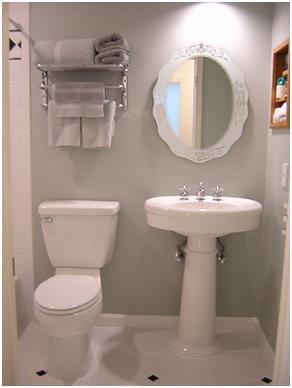 ديكور حمامات صغيرة المساحة