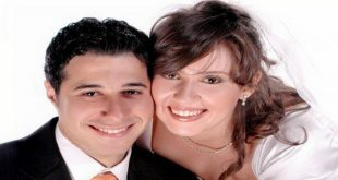 احمد صلاح السعدني وزوجته