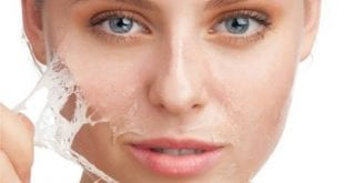 صور علاج تقشير الوجه طبيعيا