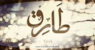 صورة ما هو معنى اسم طارق