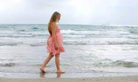 صور فوائد المشي للحامل في الشهر الاخير