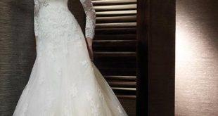 صوره فساتين زفاف دانتيل
