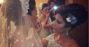صورة حفل زفاف ابنة اصالة