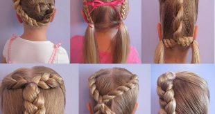 تسريحات الشعر لبنات المدارس
