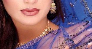مكياج هندي ازرق