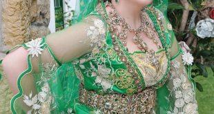 صوره تسريحات الشعر للعرائس الجزائريات