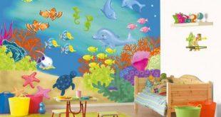 صور ورق حائط لغرف نوم الاطفال