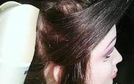 صور طرق لف الشعر