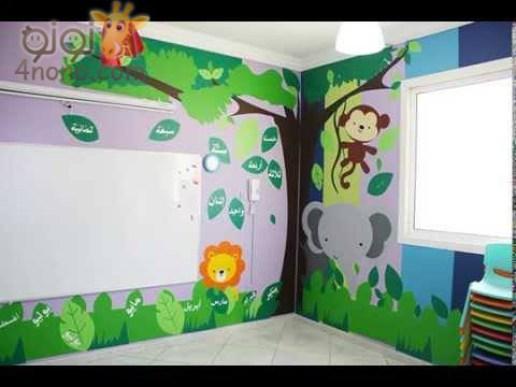 بالصور تزيين جدران الروضة , تزين الفصول للطفل 10733