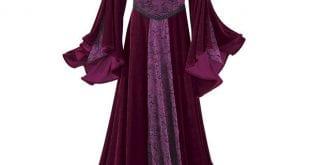 بالصور موديلات فساتين مخمل جديده , صيحه جديده فستان مخملى 13990 4 1 310x165
