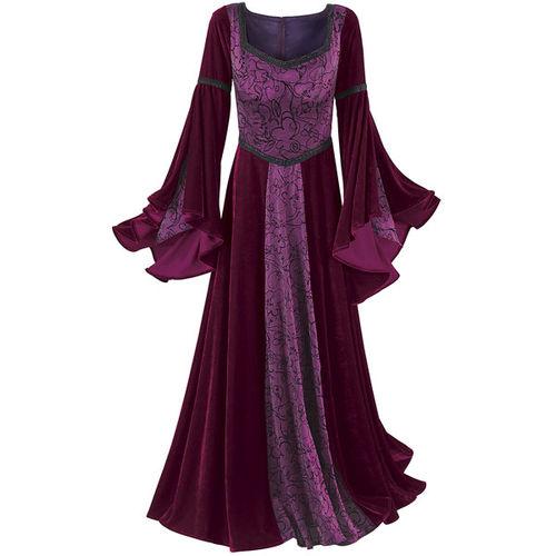 بالصور موديلات فساتين مخمل جديده , صيحه جديده فستان مخملى 13990 5