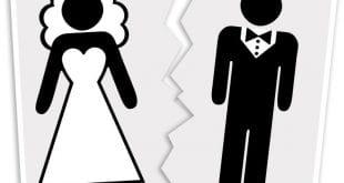 مها الصغير ويكيبيديا , طلاق مها الصغير