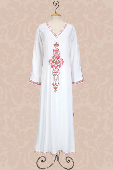 بالصور فساتين منزلية مغربية , فستان بيتى من المغرب 20759 3