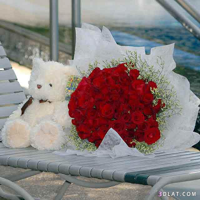 بالصور بوكيه ورد رومانسي , اجمل بوكيه ورد 4211
